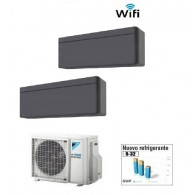 DAIKIN CLIMATIZZATORE DUAL 2MXM50M9 + 2 x STYLISH BLACKWOOD FTXA35AT WI-FI 12+12