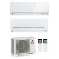 MITSUBISHI ELECTRIC DUAL MXZ-2F42VF + KIRIGAMINE ZEN MSZ-EF18VE3-W + LINEA PLUS MSZ-AP35VG INV. 5+12 (Gas R-32)