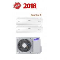 SAMSUNG DUAL Serie AR5500M Smart WI-FI AJ040MCJ2EH/EU + AR07KSWNAWKNEU + AR12KSWNAWKNET 7+12