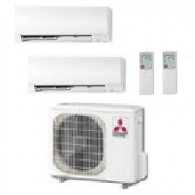 MITSUBISHI ELECTRIC KIT DUAL KIRIGAMINE MXZ-2D53VA + MSZ-FH25VE + MSZ-FH50VE 9+17 INVERTER P/C