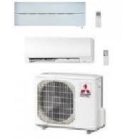 MITSUBISHI ELECTRIC KIT DUAL SERIE LN + KIRIGAMINE MXZ-2D42VA + MSZ-LN25VGW + MSZ-FH35VE INV. 9+12 - Gas R-410A