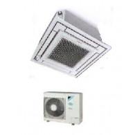 DAIKIN MONO CASSETTA A 4 VIE FFA60A-IGW/RXM60M9 21000 btu - Telecomando ad infrarossi & Griglia bianca inc. - Gas R-32
