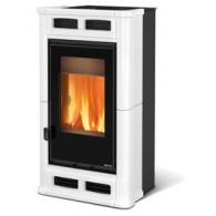 LA NORDICA STUFA A LEGNA FLO' 8,3 Kw Serie Top Design