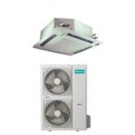 HISENSE CLIMATIZZATORE MONO Inverter CASSETTA AUC-48UR4SFA/AUW-48U6SP 48000 BTU/h P/C (Pannello PE-DA-B29 & Telecomando inclusi)