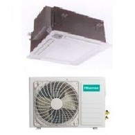 HISENSE CLIMATIZZATORE MONO Inverter CASSETTA AUC50R4AA1/AUW50U4SZ1 18000 BTU/h P/C (Pannello PE-BA-B29 & Telecomando inclusi)