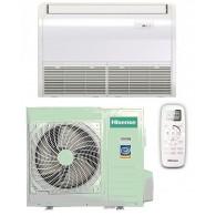 HISENSE CLIMATIZZATORE MONO Inverter PAVIMENTO/SOFFITTO AUV105R4B1/AUW105U4SA1 32000 BTU/h P/C (Telecomando infrarossi incluso)