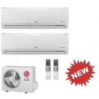 LG KIT DUAL STANDARD MU2M15.UL3 + 2 x MS09SQ NB0 INVERTER PdC 9+9