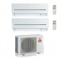 MITSUBISHI ELECTRIC KIT DUAL MXZ-2D53VA  + MSZ-SF25VE + MSZ-SF42VE 9+15