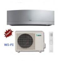 DAIKIN CLIMATIZZATORE MONO INVERTER EMURA SILVER FTXG25LS-W/RXG25K/L INVERTER PC 9000 A+++ WI-FI