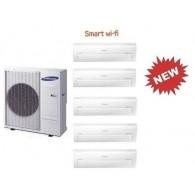 SAMSUNG PENTA Serie AR7000M Smart WI-FI AJ100FCJ4EH/EU + 4 x AR07KSPDBWK + AR18KSPDBWK 7+7+7+7+18