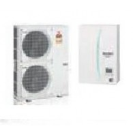 MITSUBISHI ELECTRIC ECODAN Zubadan Hydrobox Reversibile ERSC-VM2C/PUHZ-SHW140YHA TRIFASE
