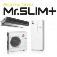 MITSUBISHI ELECTRIC ECODAN Mr.SLIM+ Hydrotank EHST20C-VM2C/PUHZ-FRP71VHA Pompa di calore aria-acqua