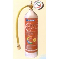 ACCESSORI - BOMBOLA GAS REFRIGERANTE R407C primo int. c/manometro