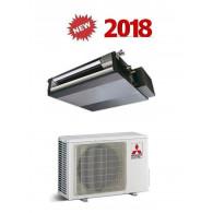 MITSUBISHI ELECTRIC CLIMATIZZATORE MONO Canalizzata SEZ-M25DAL / SUZ-KA25VA 9000 BTU/h