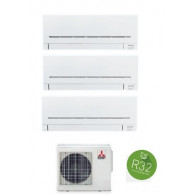 MITSUBISHI ELECTRIC KIT TRIAL Serie PLUS MXZ-3F54VF + MSZ-AP15VF + MSZ-AP20VF + MSZ-AP35VG 5+7+12 (Gas R-32)