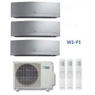 DAIKIN CLIMATIZZATORE TRIAL Emura  3MXS40K + 2 x FTXG20LS-W  + FTXG25LS-W 7+7+9 WI-FI