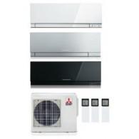 MITSUBISHI ELECTRIC KIT TRIAL KIRIGAMINE ZEN MXZ-3D/E54VA2 + 3 x MSZ-EF25VE2-W/S/B INV. 9+9+9