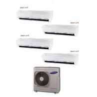 SAMSUNG QUADRI WINDFREE LIGHT AJ080MCJ4EH/EU + 4 x AR09NXWXCWKNEU 9+9+9+9 WI-FI