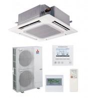 MITSUBISHI Electric Power Inverter PLA-RP125BA/PUHZ-RP125YKA(2) Cassetta 90x90 TRIFASE (Griglia inclusa, Comando escluso)